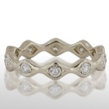 Ladies' White Gold Diamond Ring
